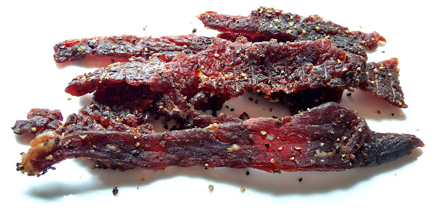 honey pepper jerky