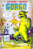 Gorgo v1 #3 charlton monster comic book cover art by Steve Ditko
