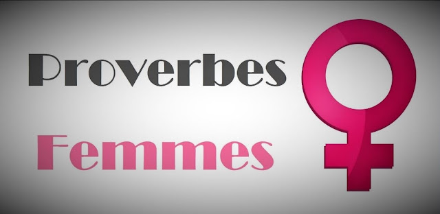 Sigle de la femme avec de beaux proverbes