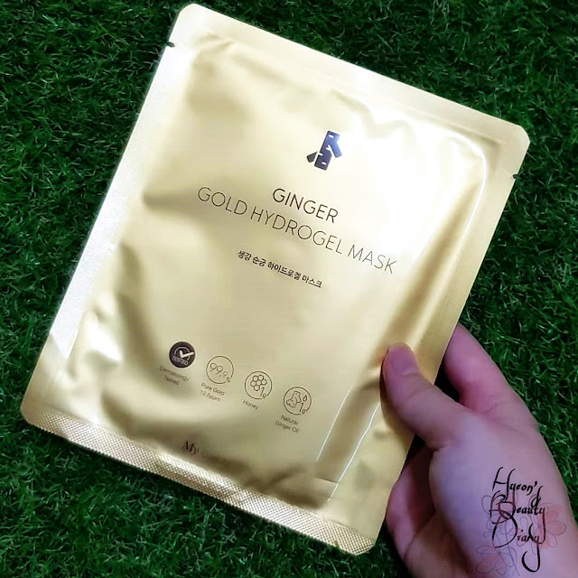 Review; My Beauty's Ginger Gold Hydrogel Mask