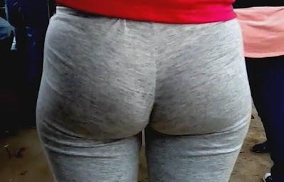 Video sexy morena nalgona pants grises