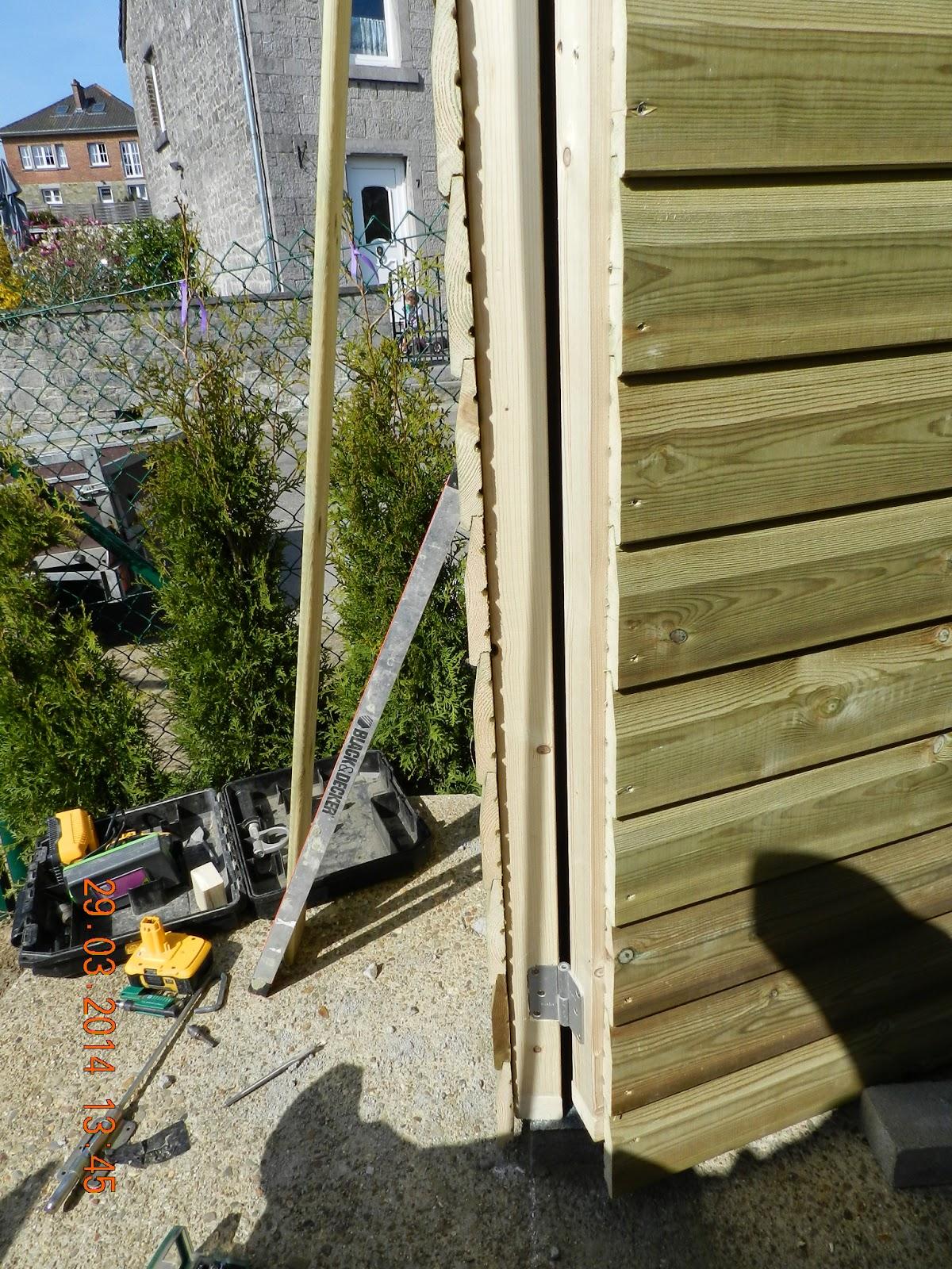ma maison au naturel comment construire un abri de jardin. Black Bedroom Furniture Sets. Home Design Ideas