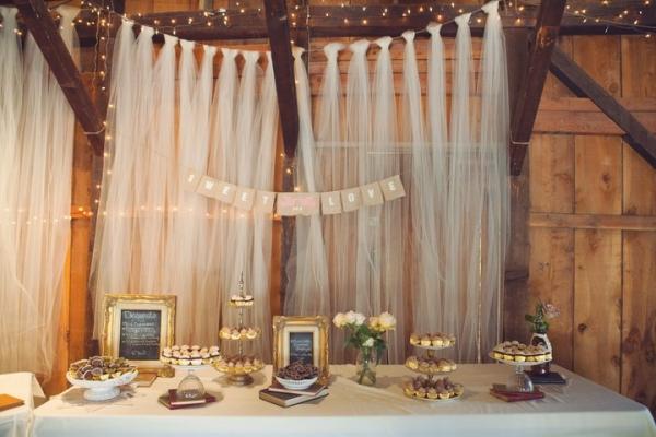 Miss Lovie Fall Wedding Ideas Rustic Dessert Table