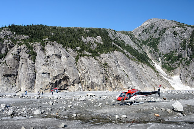 ERA Helicopters on Norris Glacier
