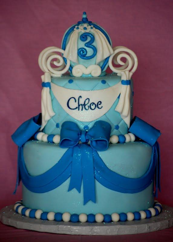 Cakefilley Cinderella Birthday Cake