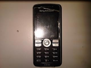 hape jadul Sony Ericsson K510i