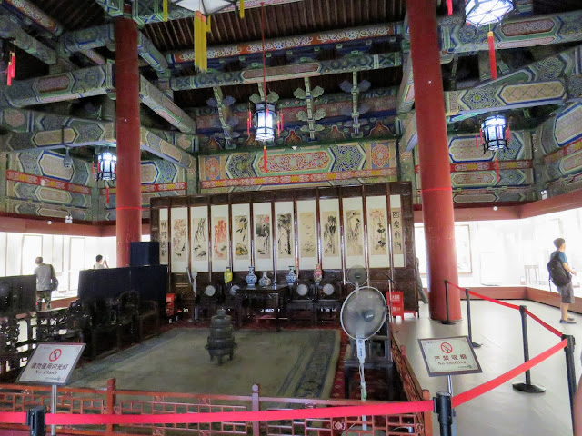 Inside the Bell Tower in Xi'an China