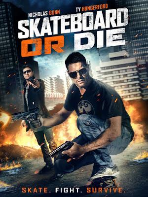 Skateboard or Die Poster