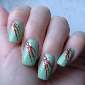 acrylic nails simple nail designs  acrylic nails