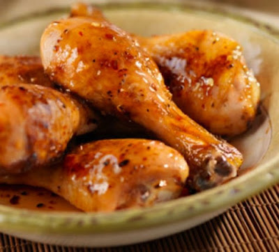 Υπέροχα και πανεύκολα μπουτάκια κοτόπουλου με σάλτσα από μέλι!