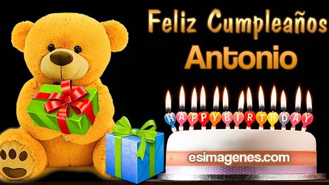 Feliz Cumpleaños Antonio