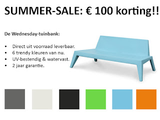 Wednesday loungebank aanbieding