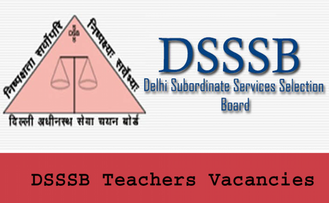 DSSSB Recruitment Group C Posts 1650 Vacancies 2018-19 Apply Online