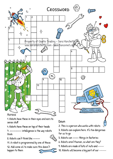 robot crossword