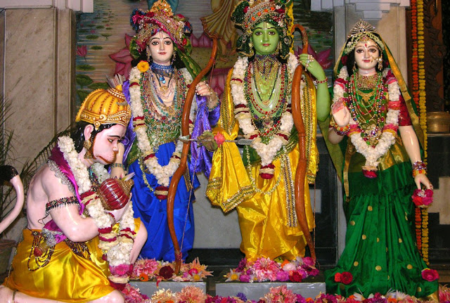 Best Lord Ram Sita Lakshman & Hanuman  Wallpaper
