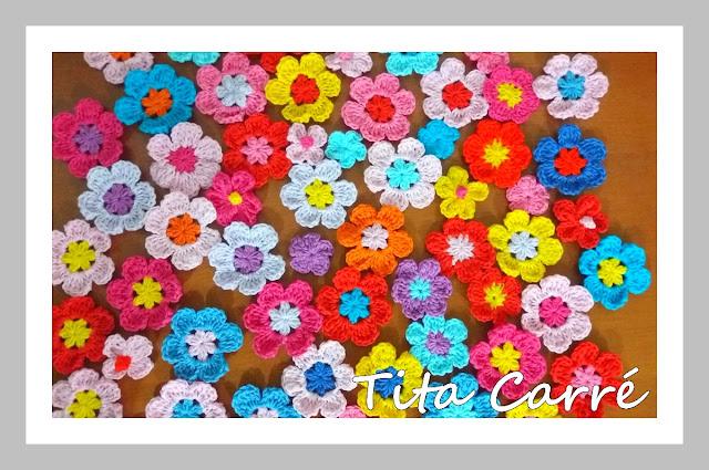 O colorido das flores