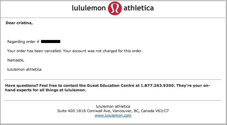 Lululemon Gift Card Balance Check Change Comin