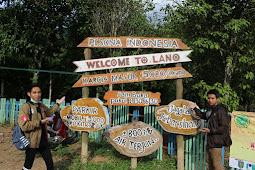 Wisata Air Terjun Lano Kecamatan Jaro Kabupaten Tabalong