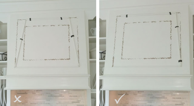 how to change the look of a range hood.