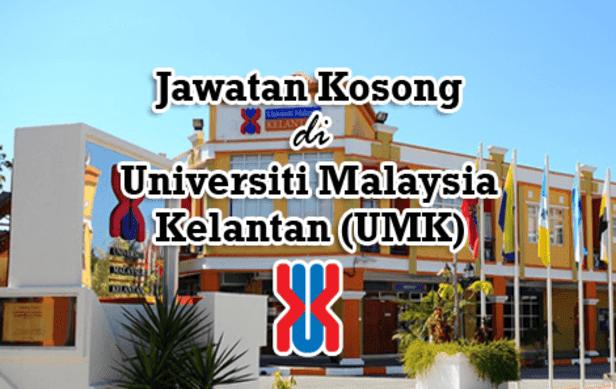 Jawatan Kosong Universiti Malaysia Kelantan