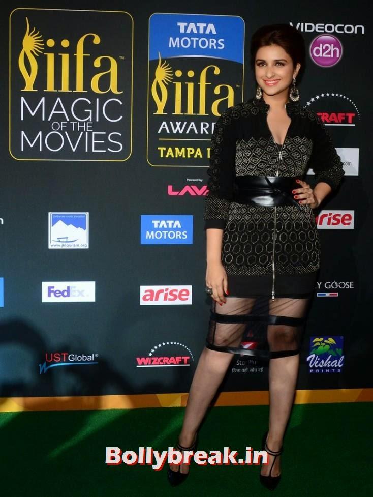 Parineeti Chopra, Bollywood Celebs sizzle on IIFA 2014 Green Carpet Pics