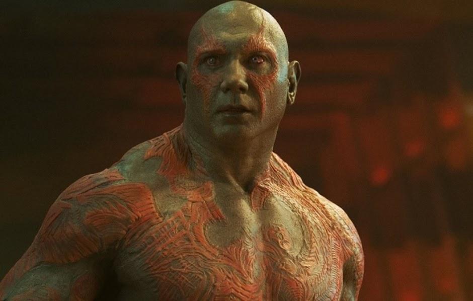 """Dave Bautista (Drax) confirma retorno em """"Vingadores 4"""" e """"Guardiões da Galáxia 3"""""""