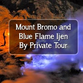 bromo ijen blue flame private