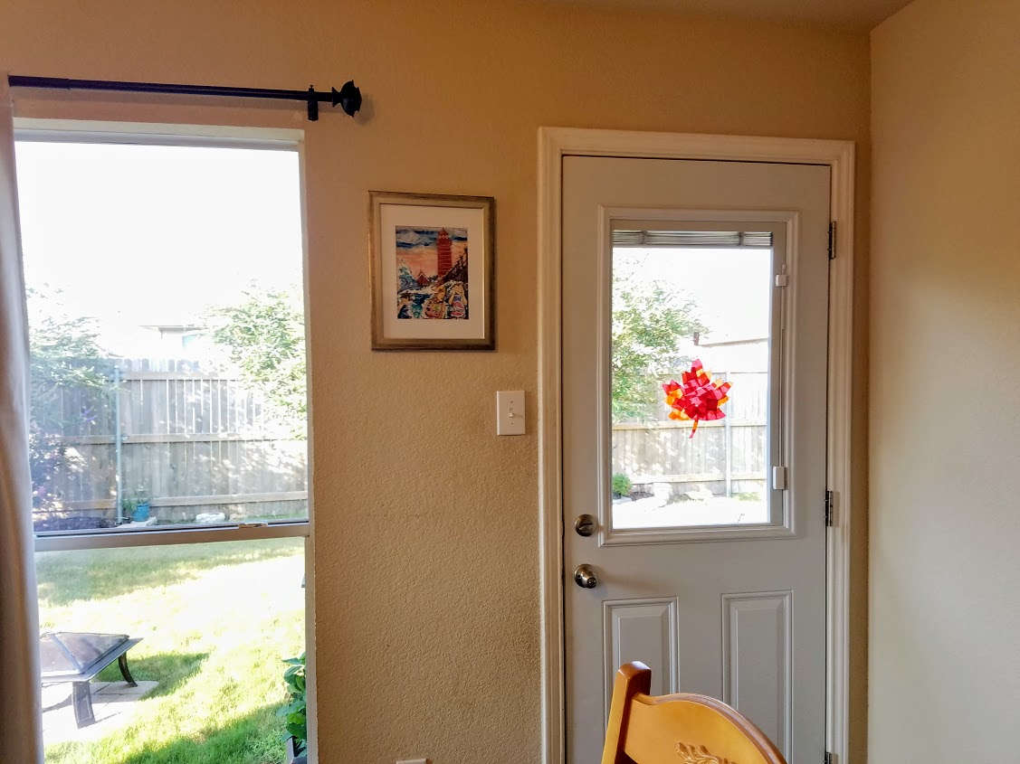 Budget Friendly Faux Stained Glass