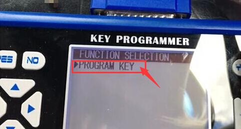 Select Program Key