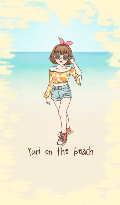 Yuri on the beach