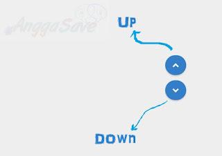 Cara Membuat Tombol Back To Top & Down Di Blogger. Keren dan membantu pengunjung untuk menuju ke atas atau bawah blog.