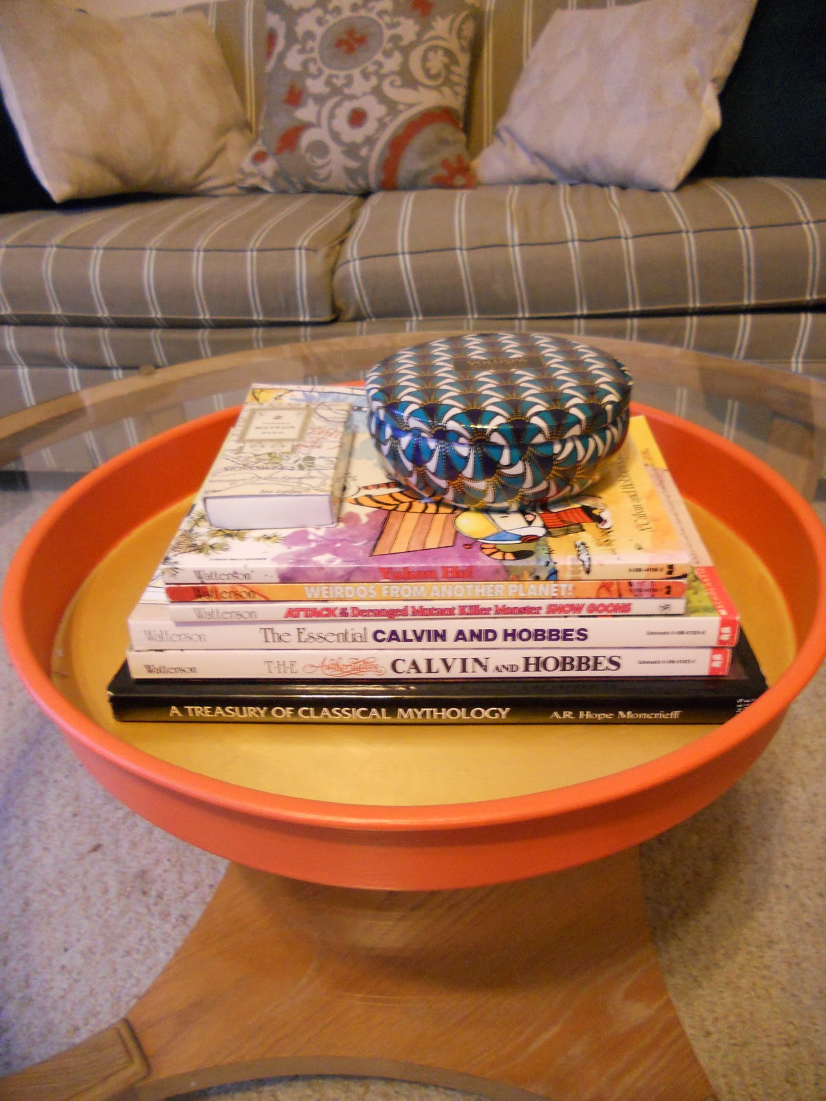 Calvin And Hobbes Coffee Table.Feeling Crafty Diy Coffee Table Tray