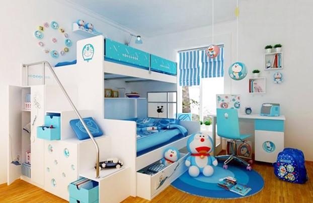 32 Desain Kamar Tidur Doraemon Yang Ceria Dan Lucu Untuk