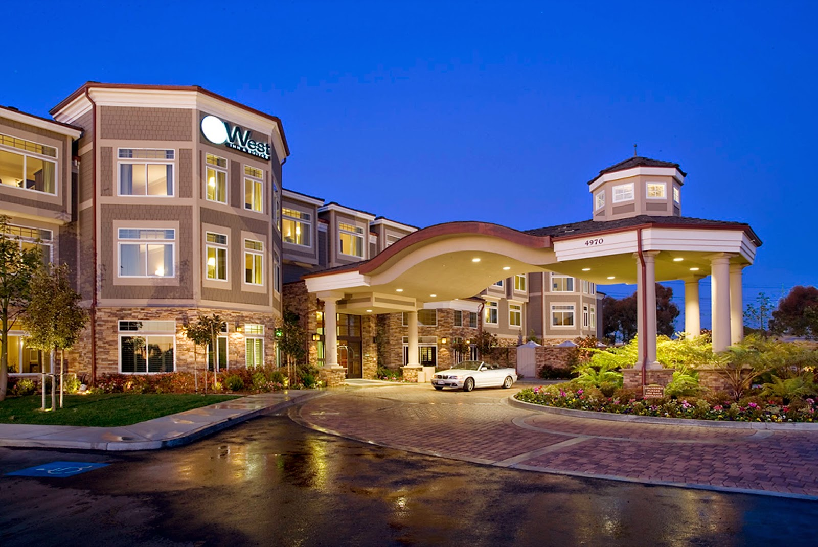 Carlsbad's West Inn & Suites in San Diego California