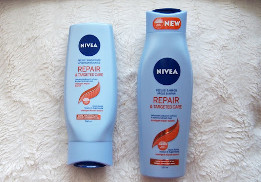 NIVEA REPAIR & TARGETED CARE | ŠAMPON A KONDICIONER