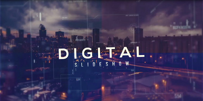 Digital Slideshow : Premiere Pro Template
