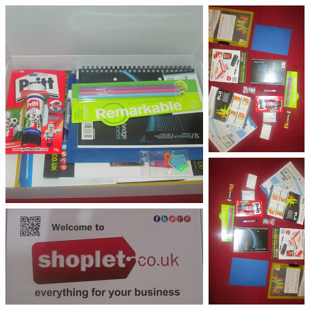 shoplet stationary office and school items