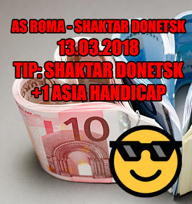 AS Roma - Shakhtar Donetsk 13.03.2018 - Cash Bet Invest