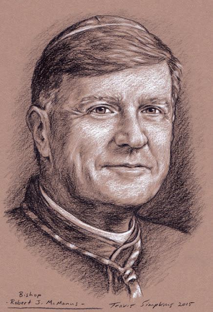 Bishop Robert J. McManus. Diocese of Worcester, MA. by Travis Simpkins