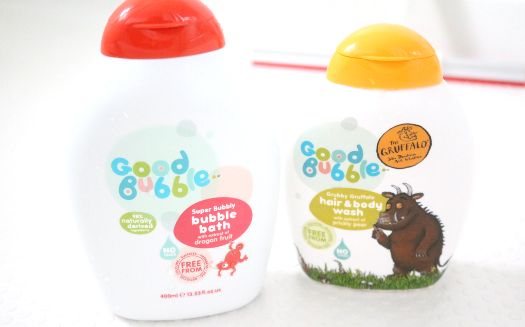 Good Bubble - Super Bubble Bath and Grubby Gruffalo Hair & Body Wash for Newborns & Sensitive Skin