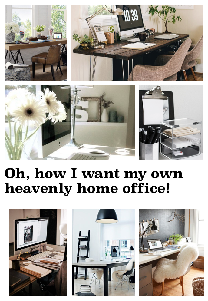 Wang's Wonderful World: Home office inspo