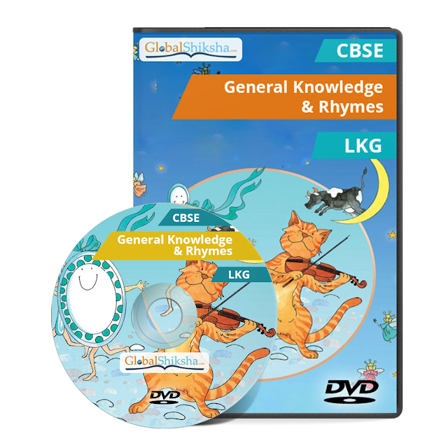 Animated Educational DVD -ROM for LKG