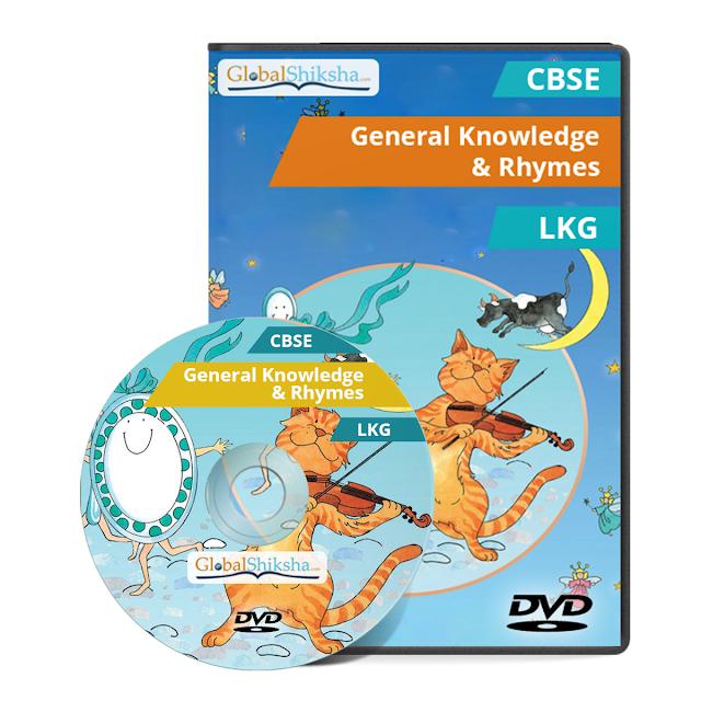 Animated Educational DVD -ROM for LKG