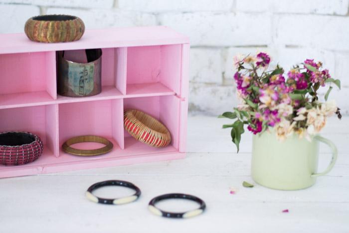 Joyero caja de vino DIY