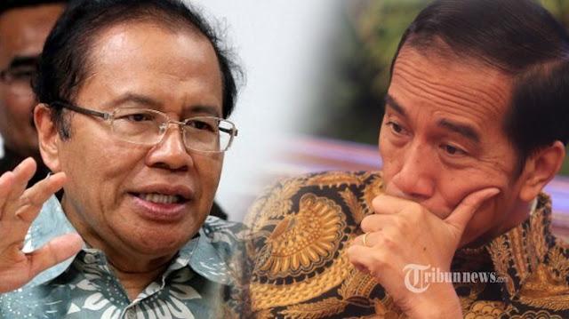 Rizal Ramli: Jokowi Dulu Dicintai, Sekarang Ditinggal Rakyat