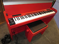 Dexibell red H7 piano