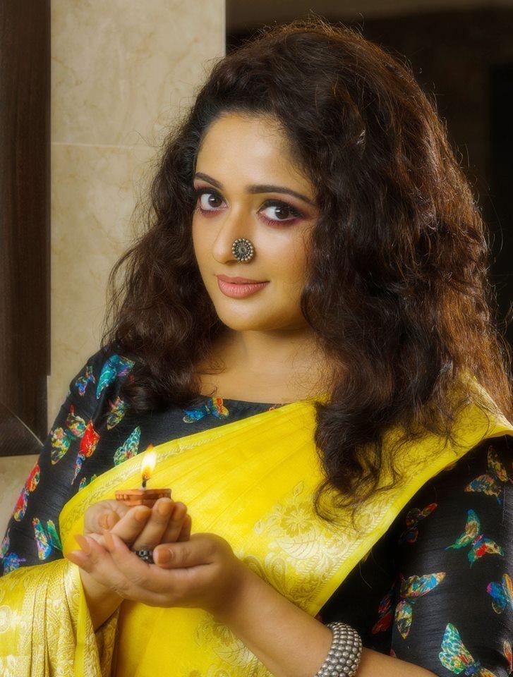Kavya Madhavan Latest Hot Photos In Saree - Spicy Actress-5913