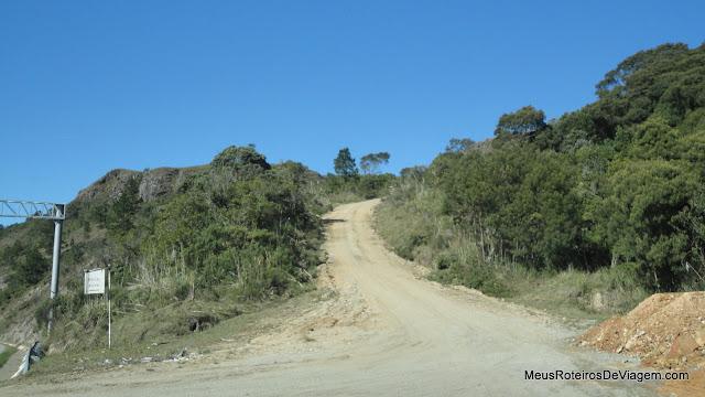 Estrada do Mirante da Serra da Boa Vista - Rancho Queimado / SC