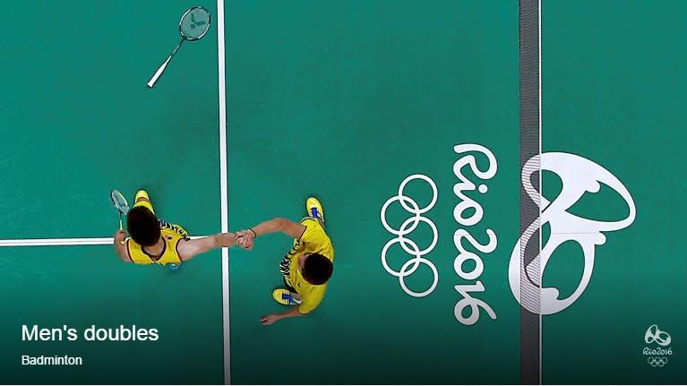 Yeay! Beregu Lelaki Malaysia Mara Ke Final Badminton Rio 2016!