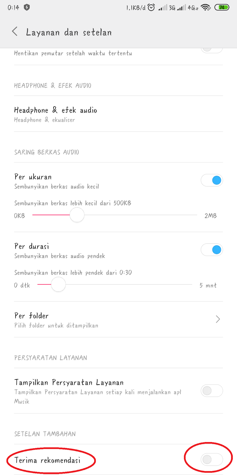 Cara Menghilangkan Iklan di HP Xiaomi MIUI 9 dan 10